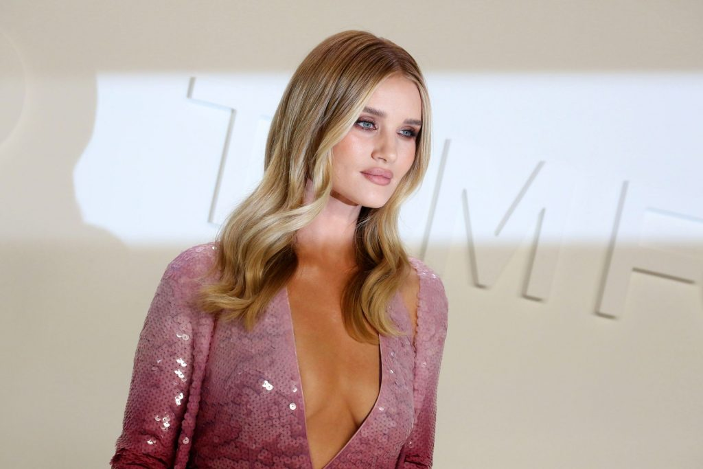 Rosie Huntington Whiteley Sexy The Fappening Blog 40 1024x683 - Rosie Huntington-Whiteley Shows Her Cleavage at the Tom Ford Fashion Show (115 Photos)