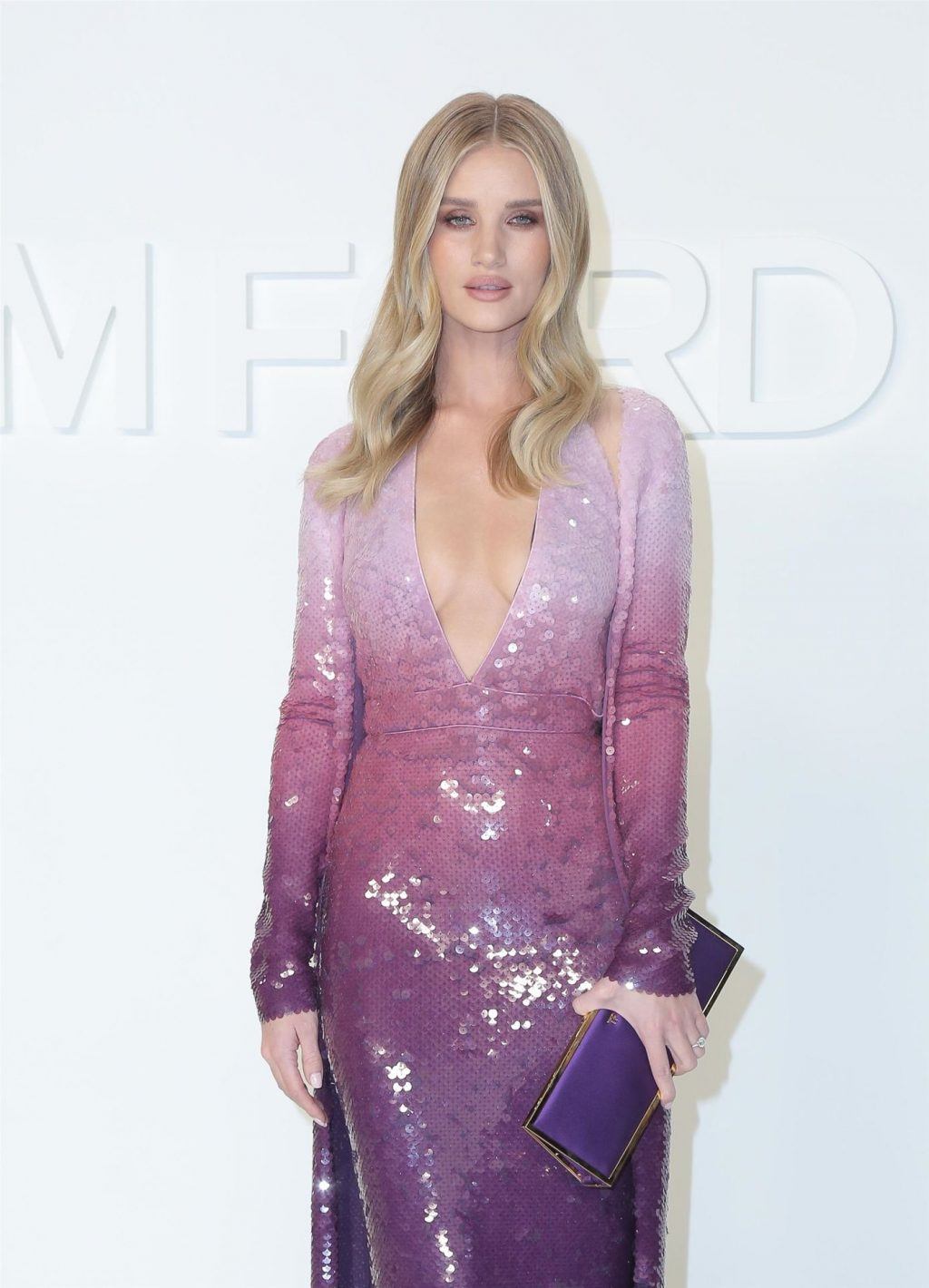 Rosie Huntington Whiteley Sexy The Fappening Blog 54 1024x1420 - Rosie Huntington-Whiteley Shows Her Cleavage at the Tom Ford Fashion Show (115 Photos)