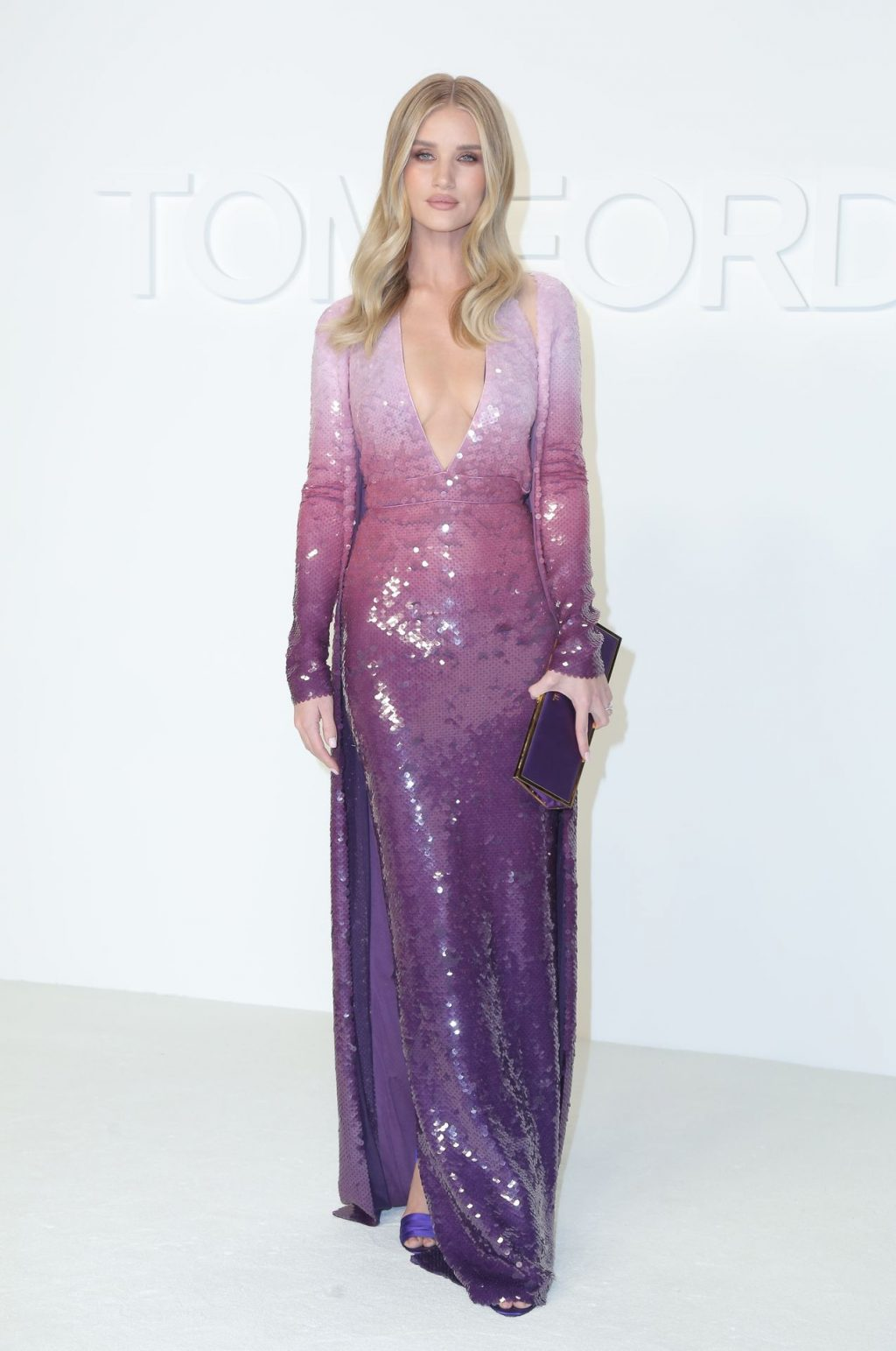 Rosie Huntington Whiteley Sexy The Fappening Blog 56 1024x1543 - Rosie Huntington-Whiteley Shows Her Cleavage at the Tom Ford Fashion Show (115 Photos)