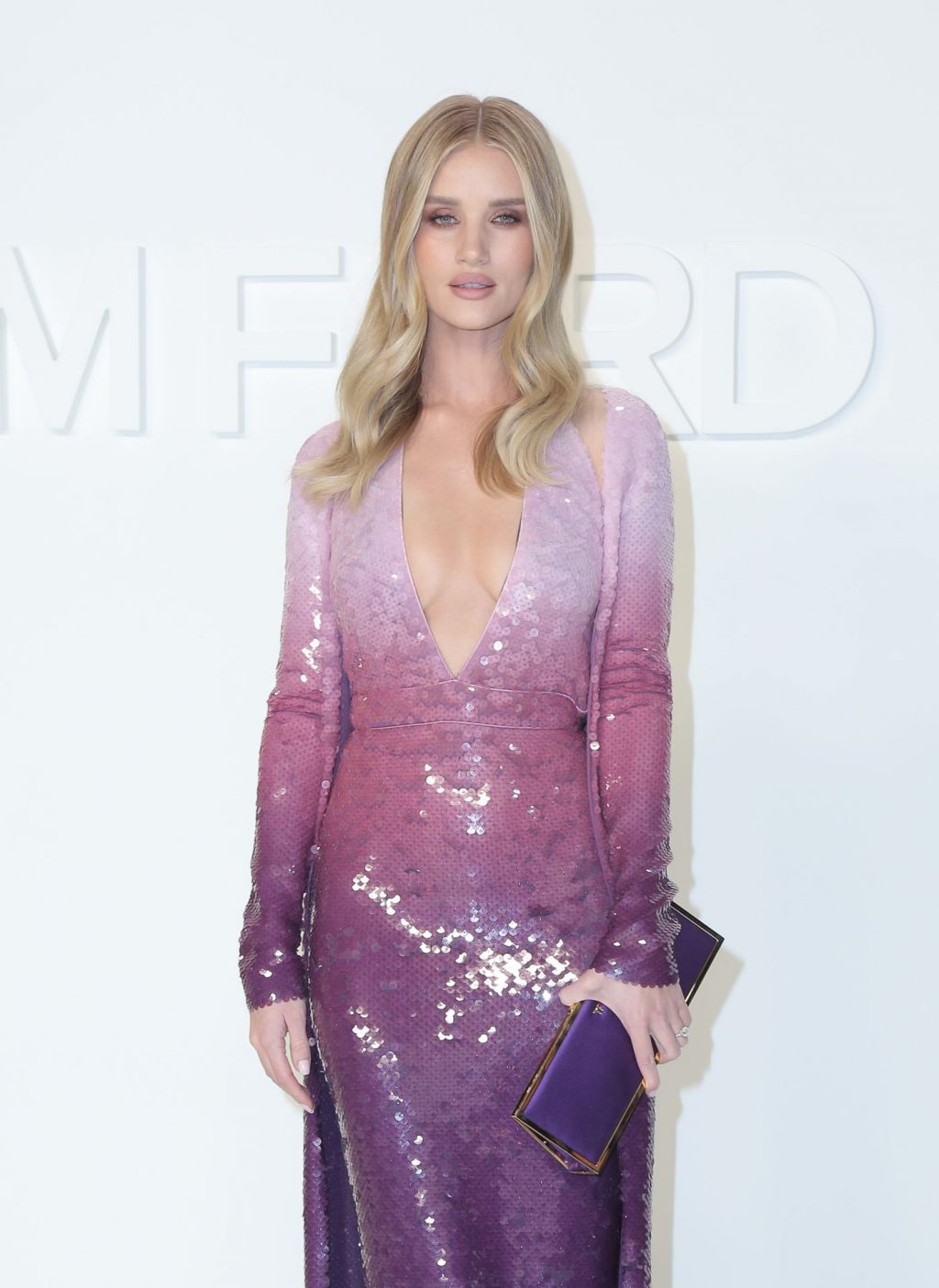 Rosie Huntington Whiteley Sexy The Fappening Blog 59 1024x1405 - Rosie Huntington-Whiteley Shows Her Cleavage at the Tom Ford Fashion Show (115 Photos)