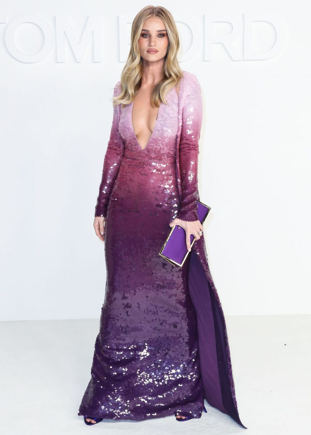 Rosie Huntington Whiteley Sexy The Fappening Blog 60 1024x1434 - Rosie Huntington-Whiteley Shows Her Cleavage at the Tom Ford Fashion Show (115 Photos)