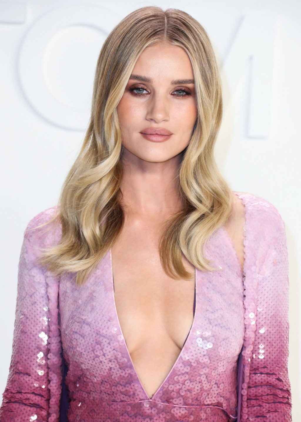 Rosie Huntington Whiteley Sexy The Fappening Blog 64 1024x1434 - Rosie Huntington-Whiteley Shows Her Cleavage at the Tom Ford Fashion Show (115 Photos)
