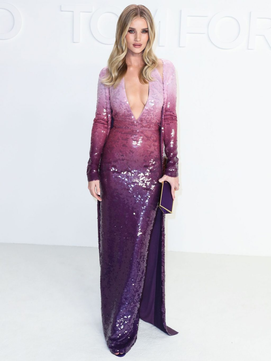 Rosie Huntington Whiteley Sexy The Fappening Blog 67 1024x1365 - Rosie Huntington-Whiteley Shows Her Cleavage at the Tom Ford Fashion Show (115 Photos)