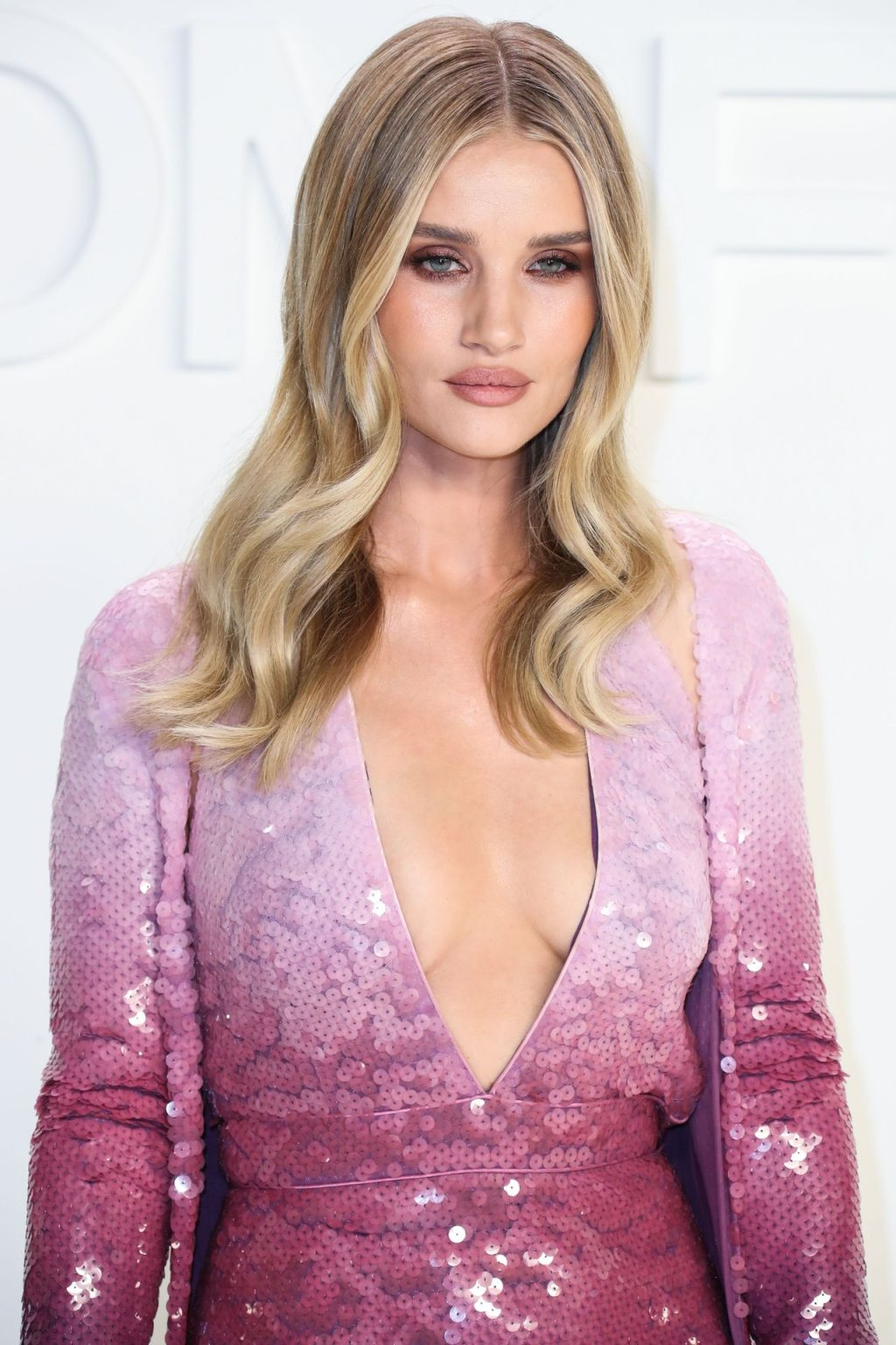 Rosie Huntington Whiteley Sexy The Fappening Blog 70 1024x1536 - Rosie Huntington-Whiteley Shows Her Cleavage at the Tom Ford Fashion Show (115 Photos)