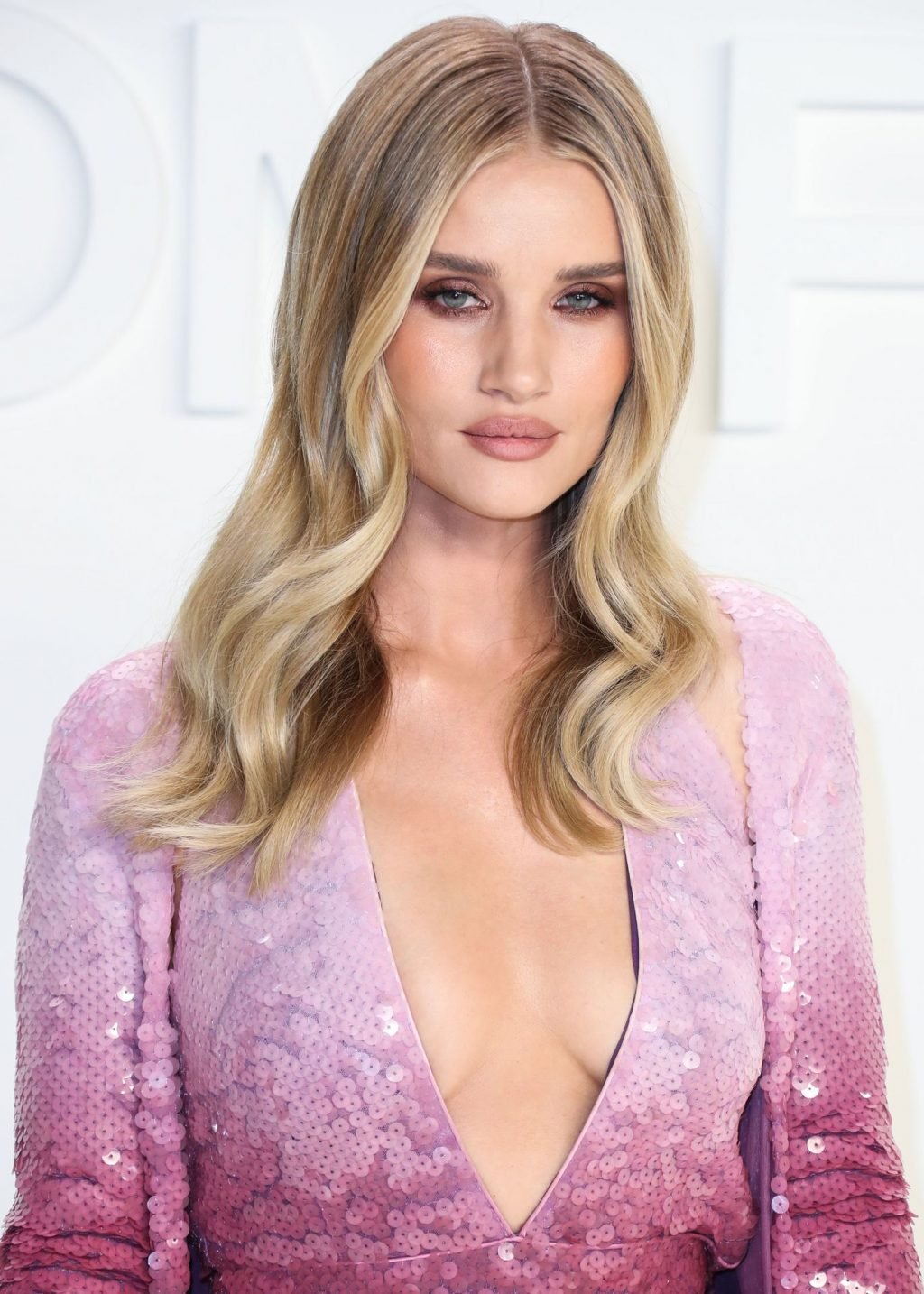 Rosie Huntington Whiteley Sexy The Fappening Blog 71 1024x1434 - Rosie Huntington-Whiteley Shows Her Cleavage at the Tom Ford Fashion Show (115 Photos)
