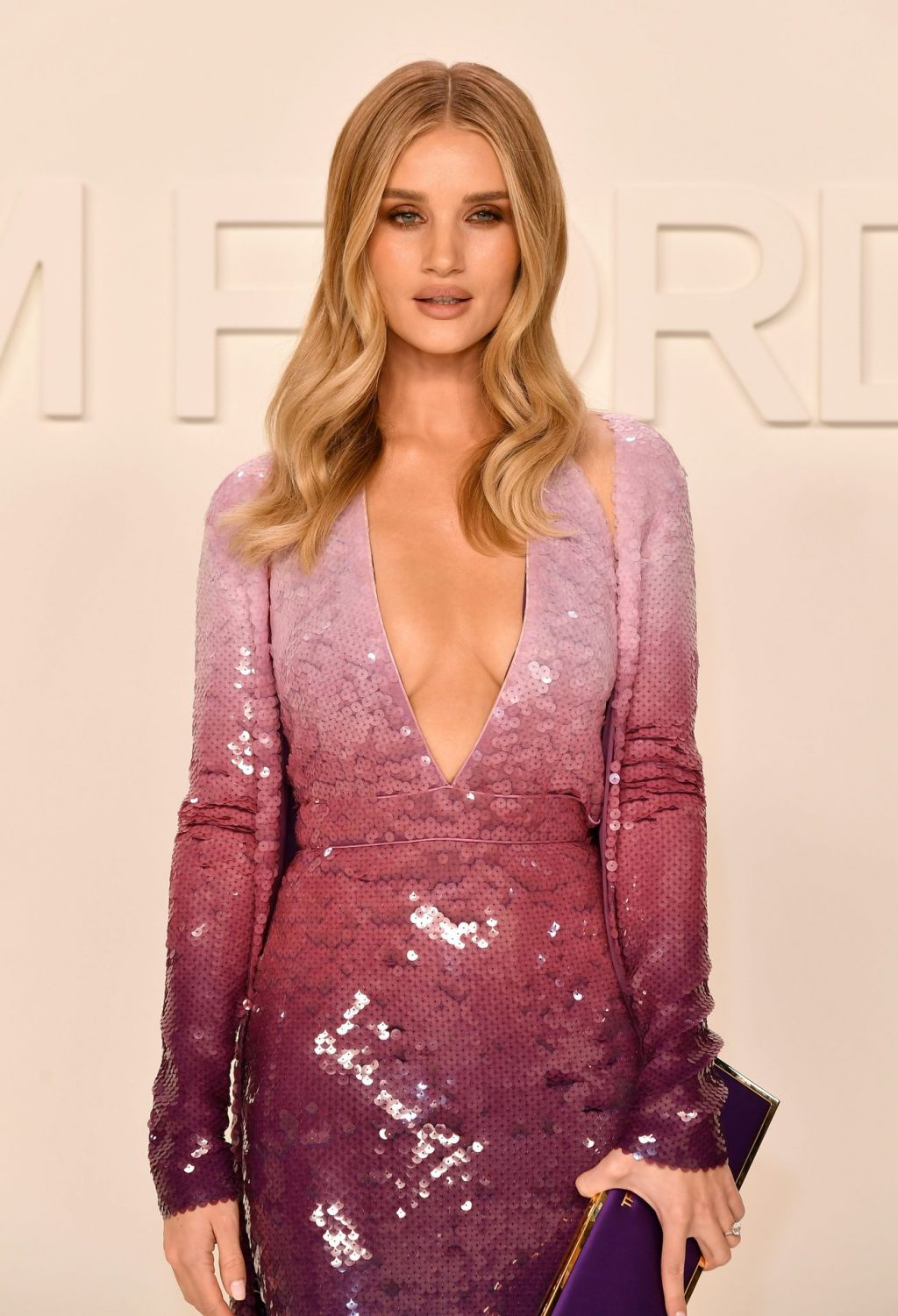 Rosie Huntington Whiteley Sexy The Fappening Blog 8 1024x1501 - Rosie Huntington-Whiteley Shows Her Cleavage at the Tom Ford Fashion Show (115 Photos)