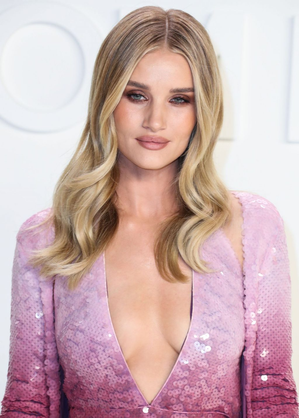 Rosie Huntington Whiteley Sexy The Fappening Blog 84 1024x1433 - Rosie Huntington-Whiteley Shows Her Cleavage at the Tom Ford Fashion Show (115 Photos)