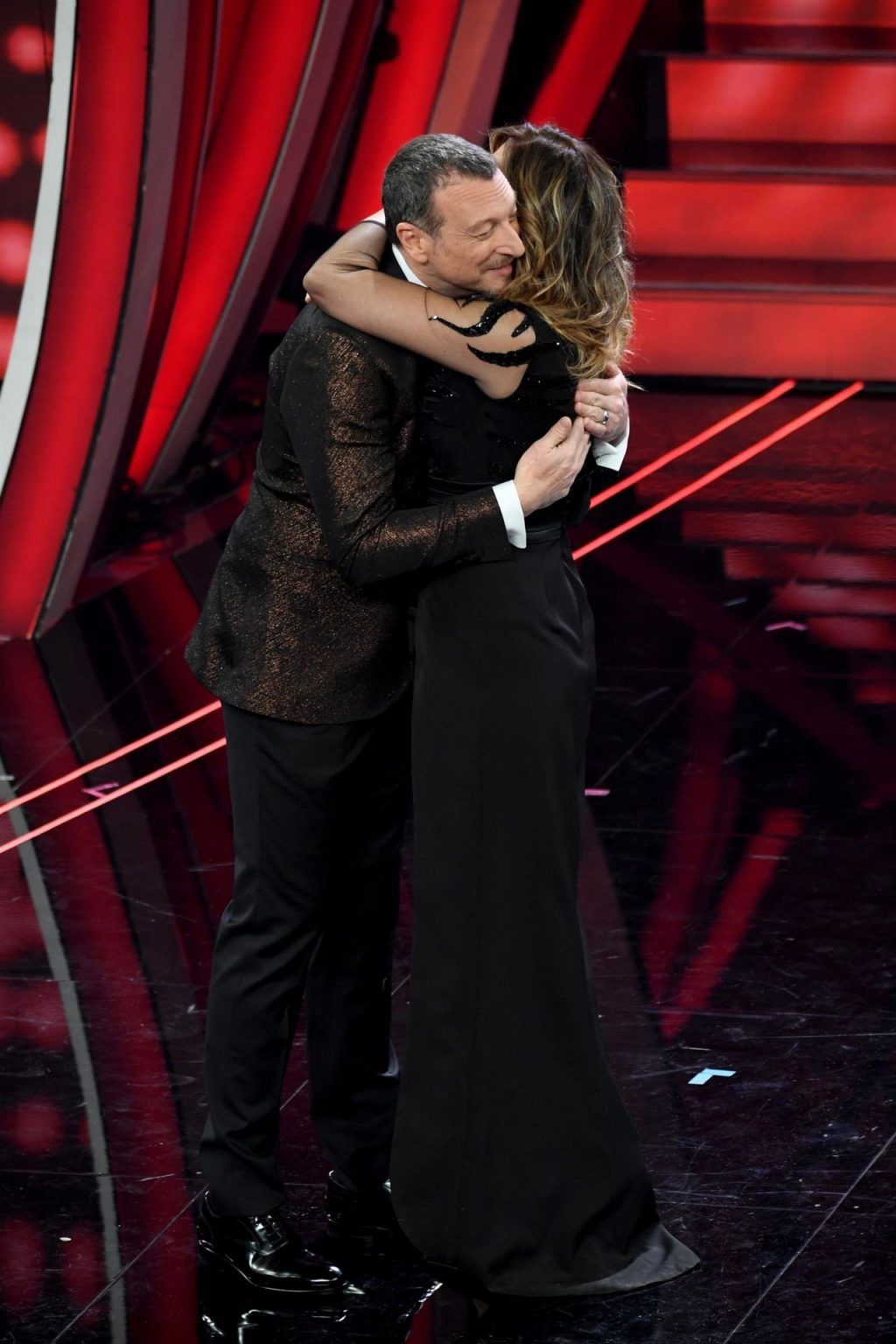 Sabrina Salerno Shows Off Her Panties and Cleavage at the Sanremo Music Festival (37 Photos)