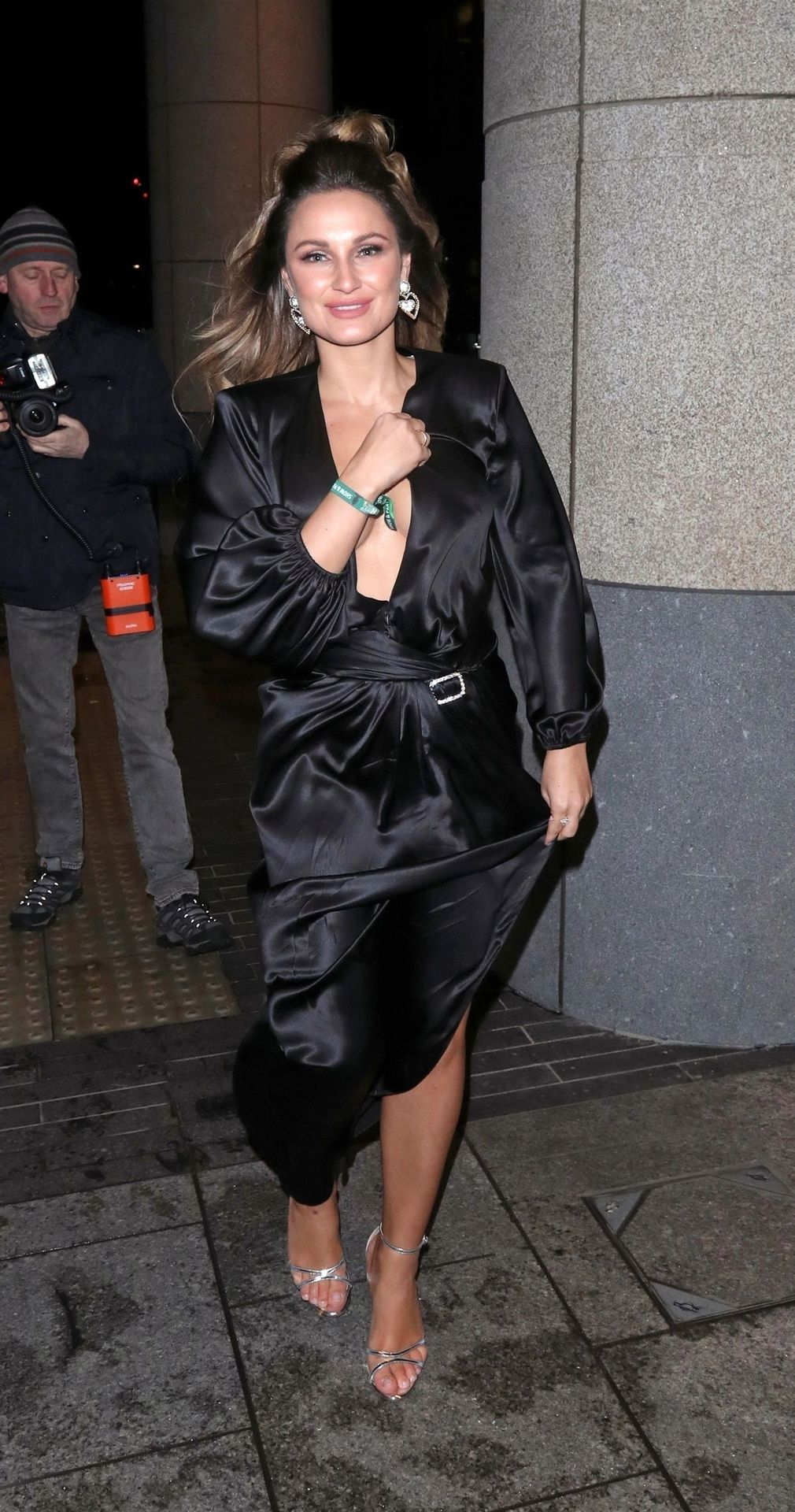 Sam Faiers Gets Leggy at The BRIT Awards Afterparty (12 Photos)