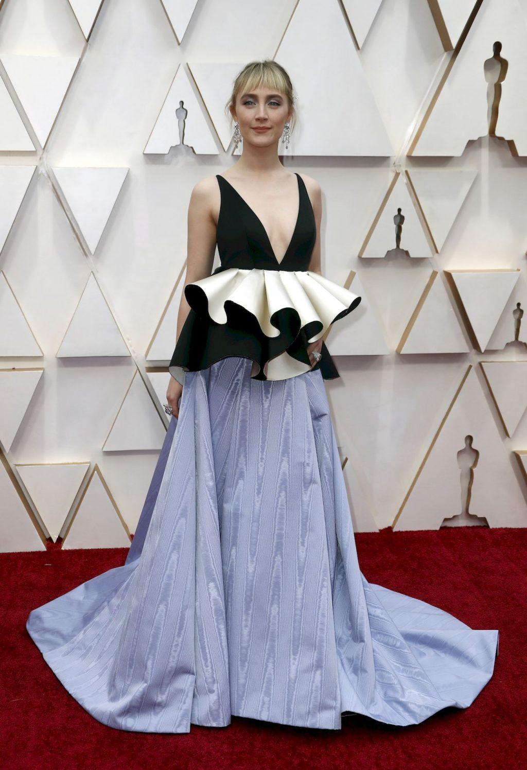 Tittyless Saoirse Ronan Arrives to the 92nd Academy Awards (8 Photos)
