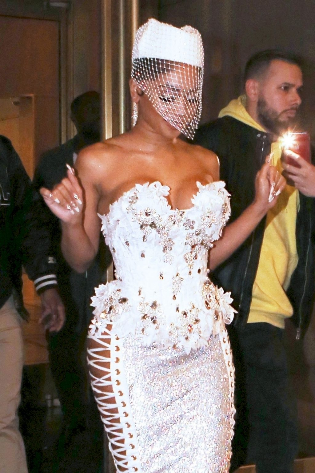 Saweetie Is Sexy in a White Corset (12 Photos)