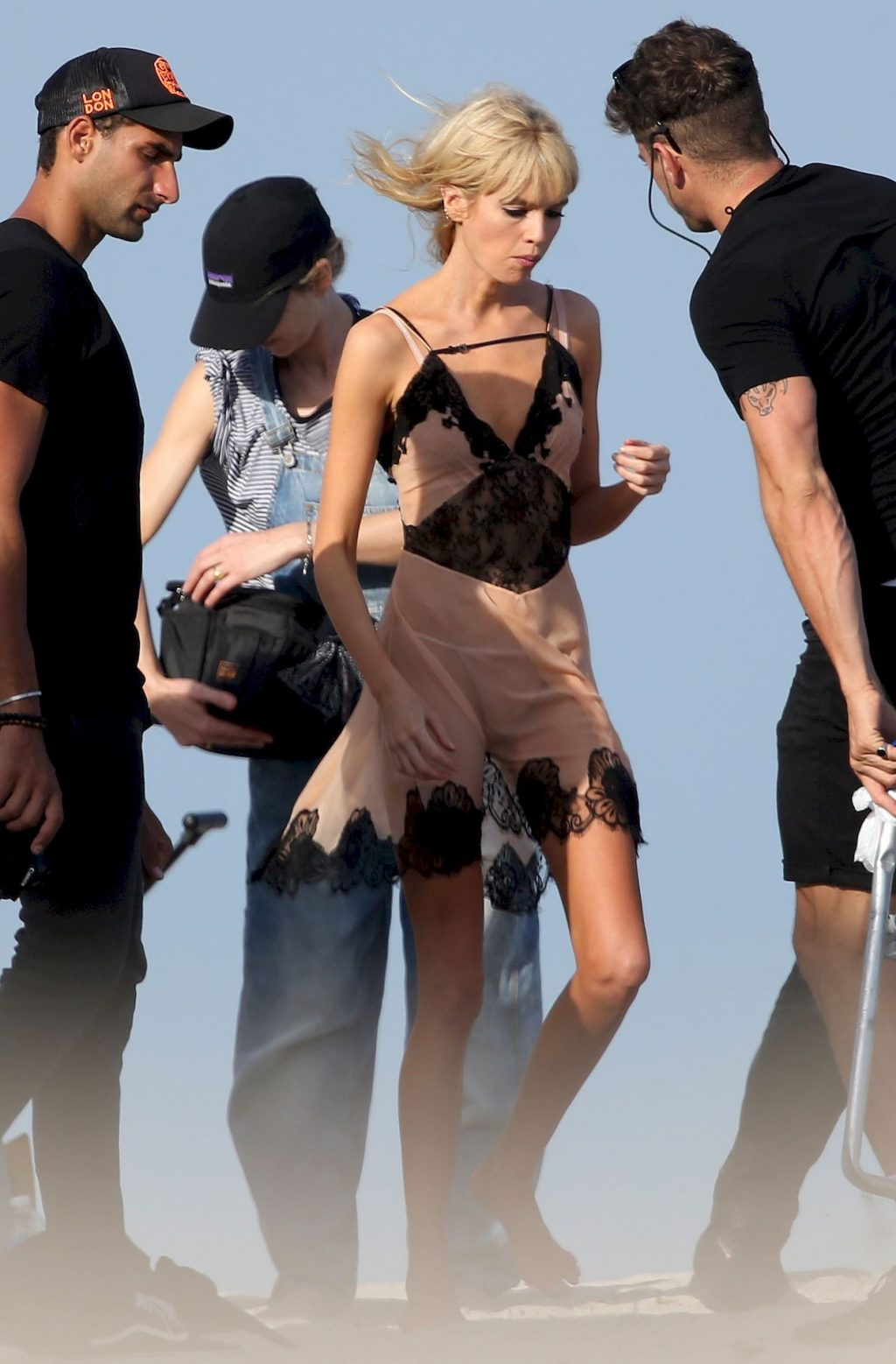 Stella Maxwell Wears Sheer Lingerie During a Photoshoot in Miami (36 Photos)