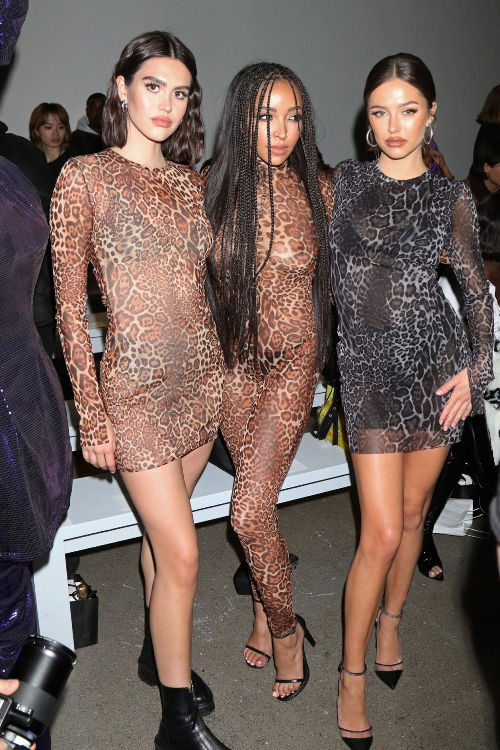 Tinashe See Through The Fappening Blog 6 1024x1536 - Tinashe Shows Off Her Tits at the NYFW 2020: LaQuan Smith Fashion Show (13 Photos)