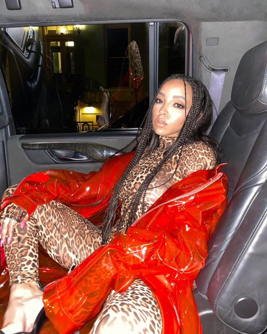 Tinashe See Through The Fappening Blog 9 1024x1280 - Tinashe Shows Off Her Tits at the NYFW 2020: LaQuan Smith Fashion Show (13 Photos)