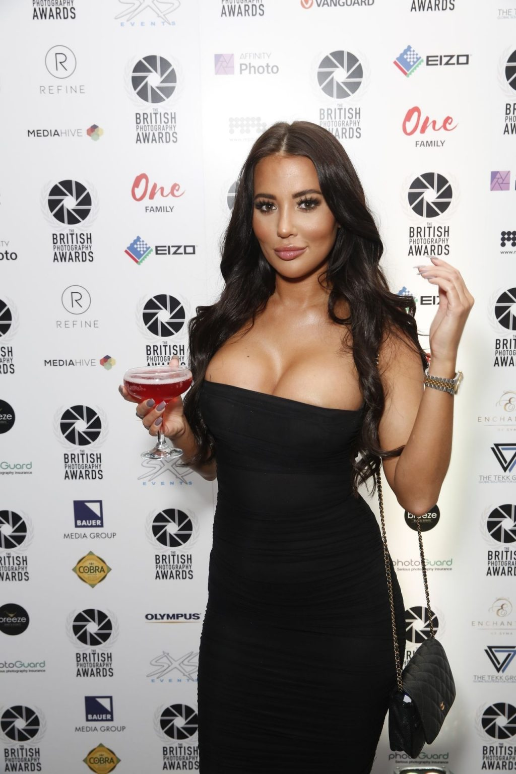 Yazmin Oukhellou Shows Her Boobs at the British Photography Awards (29 Photos)