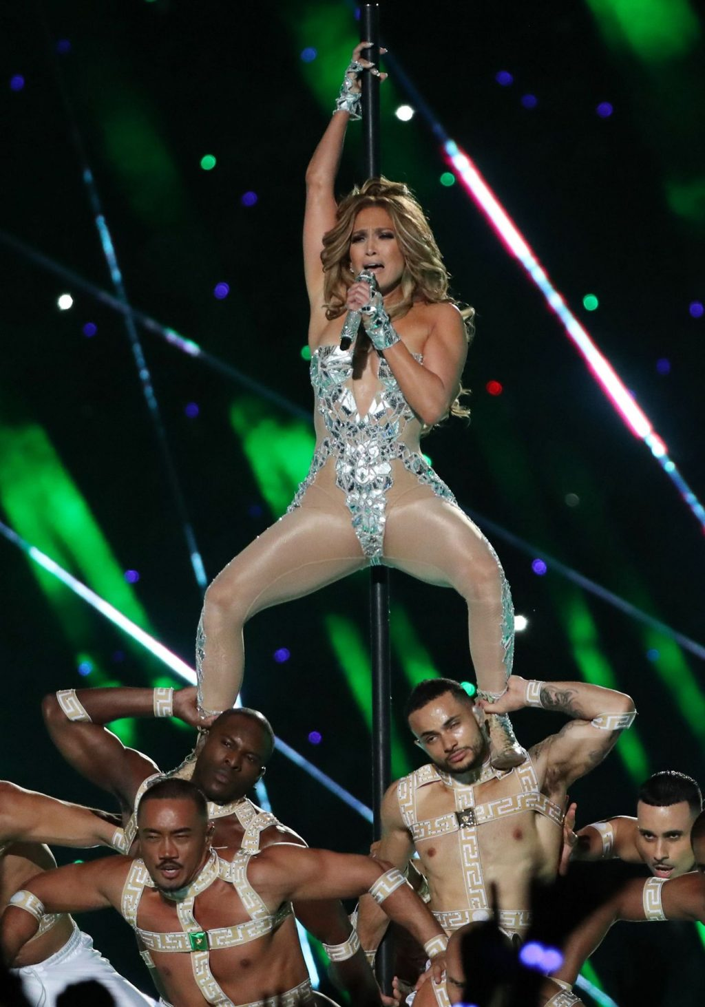 Sexy Jennifer Lopez and Shakira Perform at the Halftime Show in Super Bowl LIV (111 Photos + GIFs & Video)