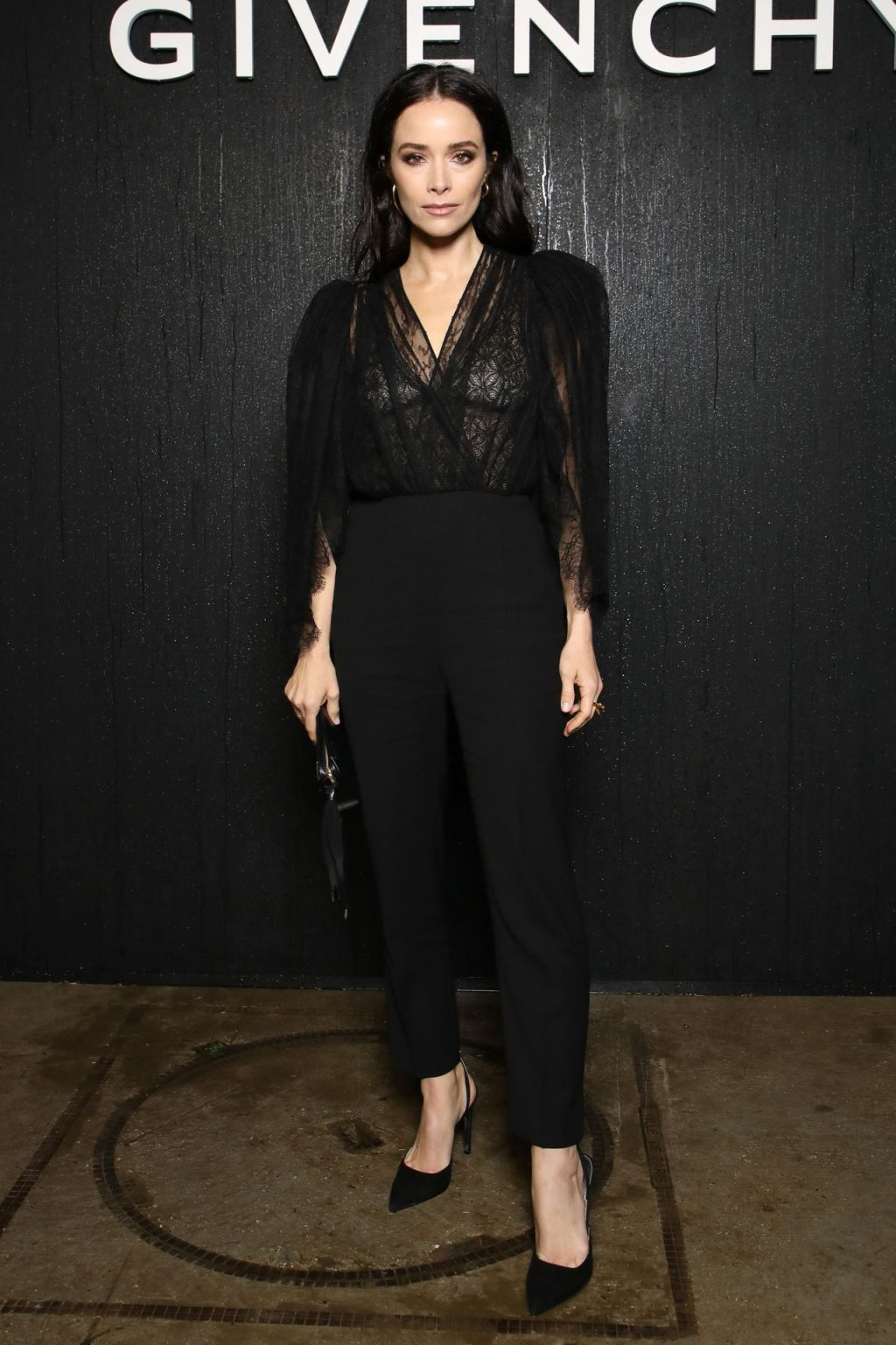 Abigail Spencer Shows Her Tits at the Givenchy Fashion Show (20 Photos)