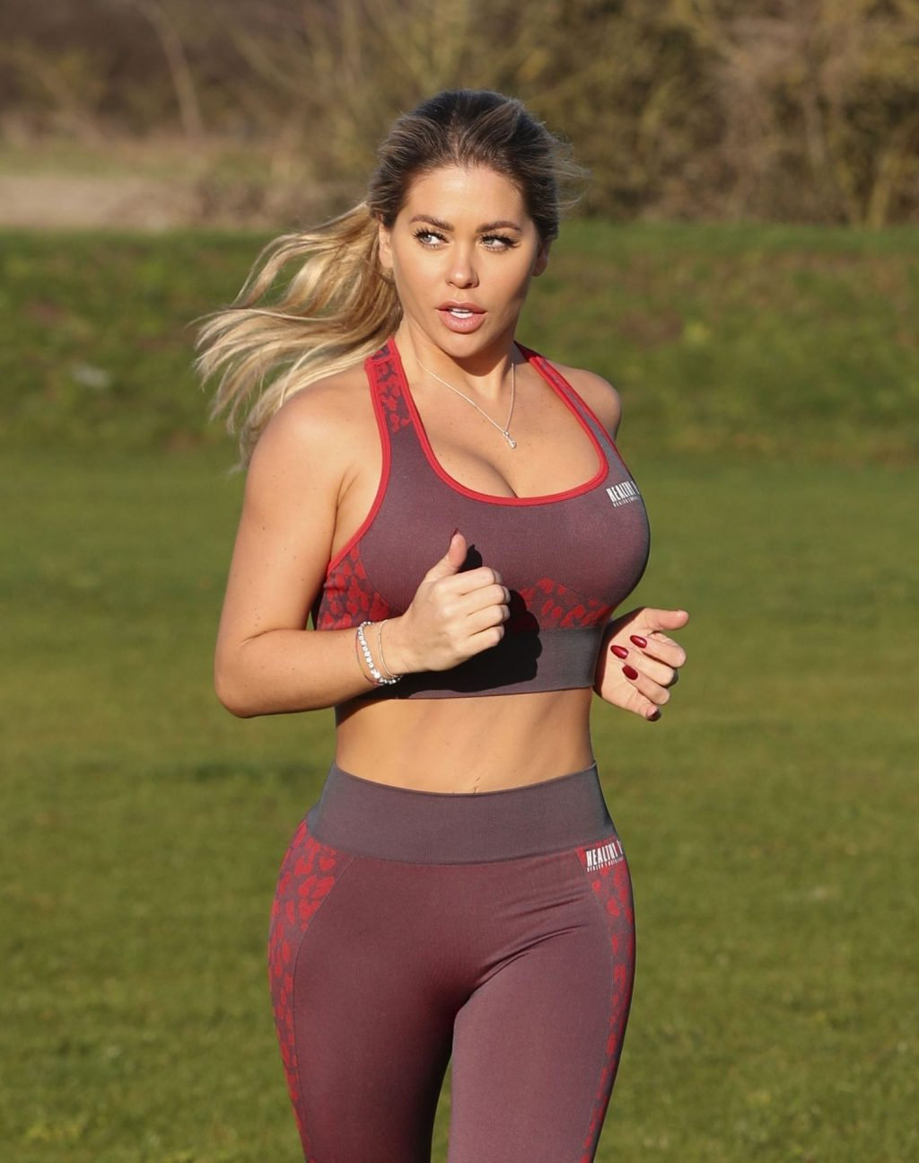 Bianca Gascoigne Is Seen Working at Prestige Bootcamp in Wales (13 Photos)