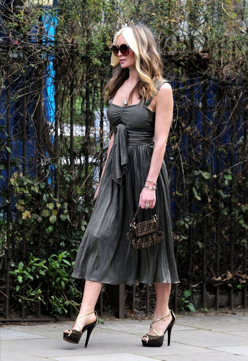 Caprice Bourret Steps Out Looking Glamorous in London (29 Photos)