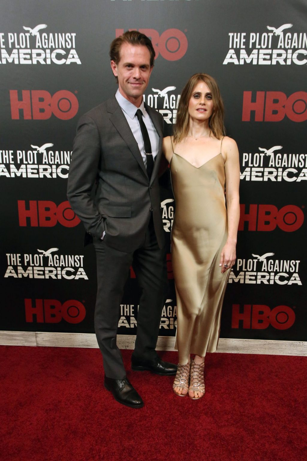 Caroline Kaplan Shows Her Pokies at the New York Premiere of HBO's The Plot Against America (30 Photos)