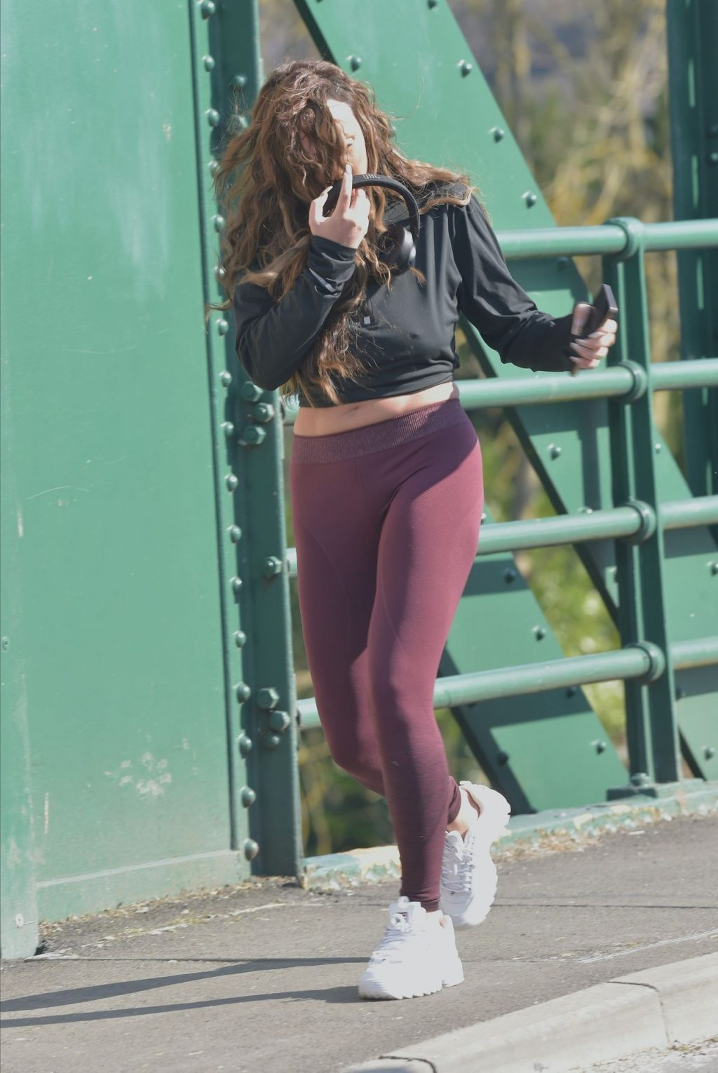 Charlotte Crosby Pictured While Jogging (43 Photos)