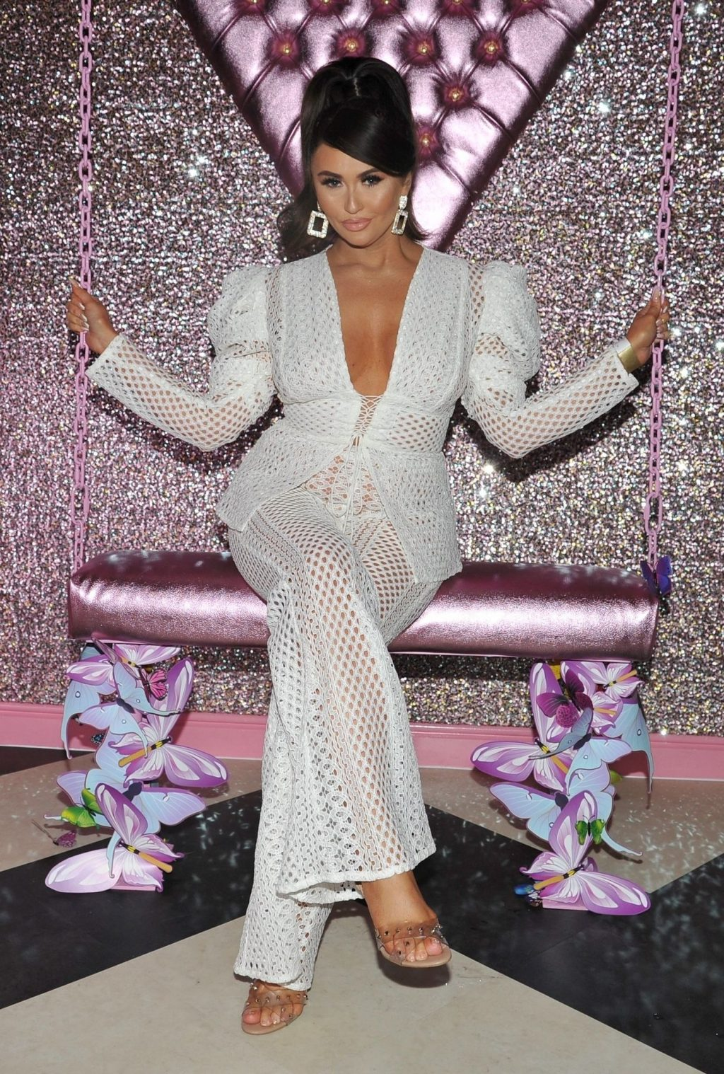 Charlotte Dawson Shows Her Boobs at Avenue Nightclub Launch Party (24 Photos)
