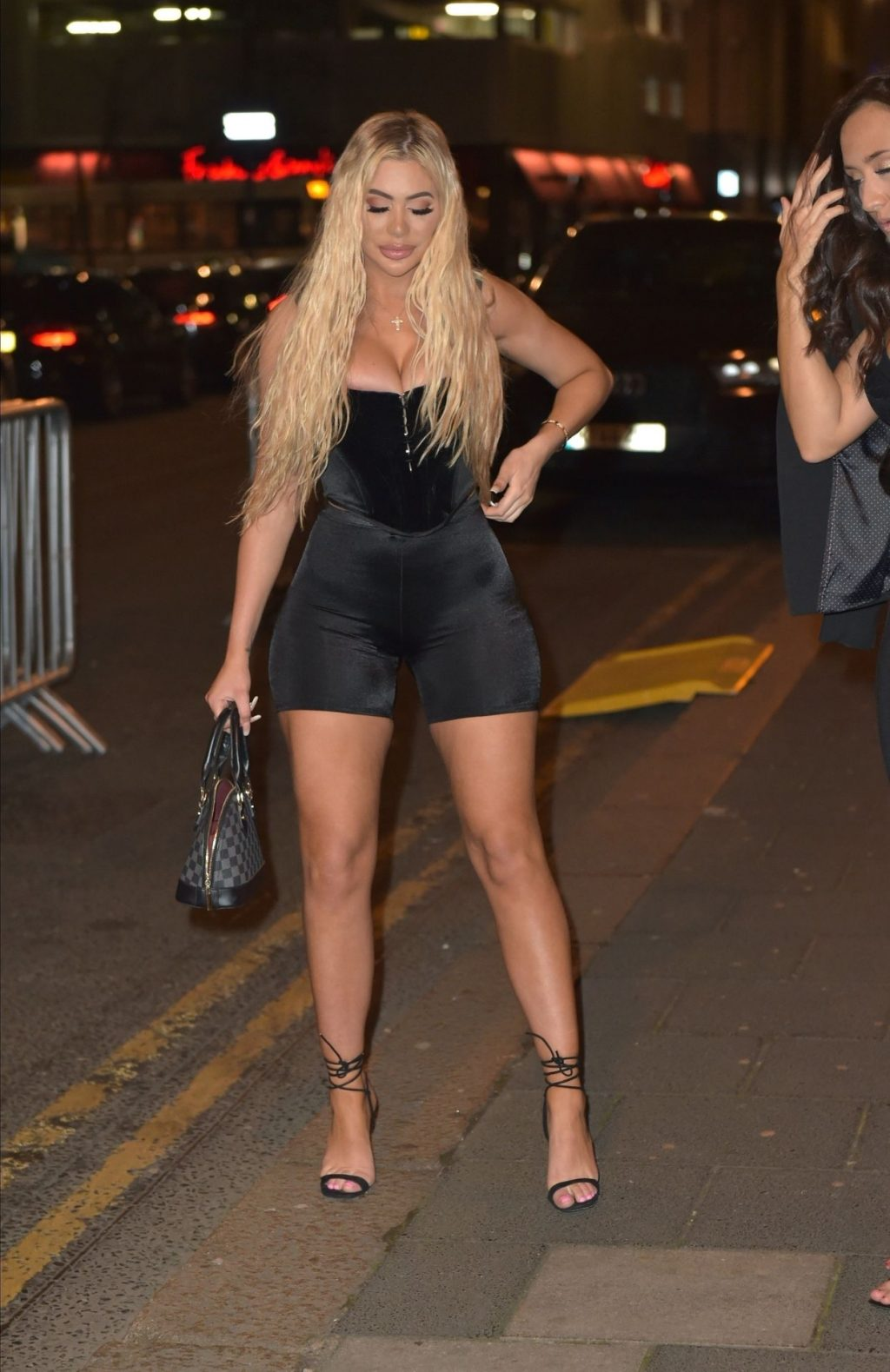 Chloe Ferry Hits the Town and Attends Floyd Mayweather Night (67 Photos)