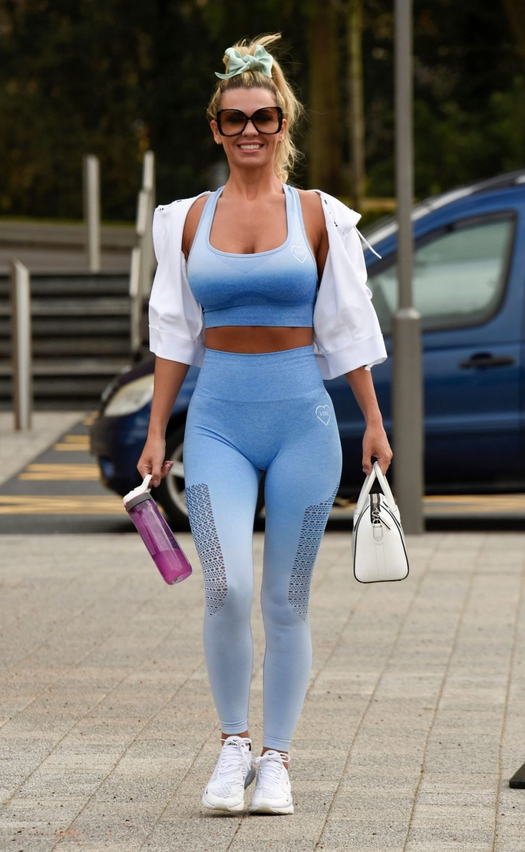 Christine McGuinness Pictured Leaving Gym in Cheshire (45 Photos)