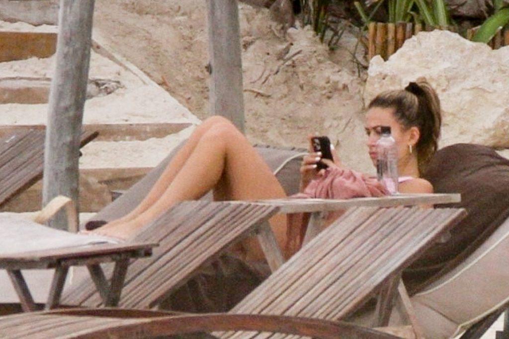 Cindy Prado Shows Off Her Figure in a Pink Bikini (38 Photos)