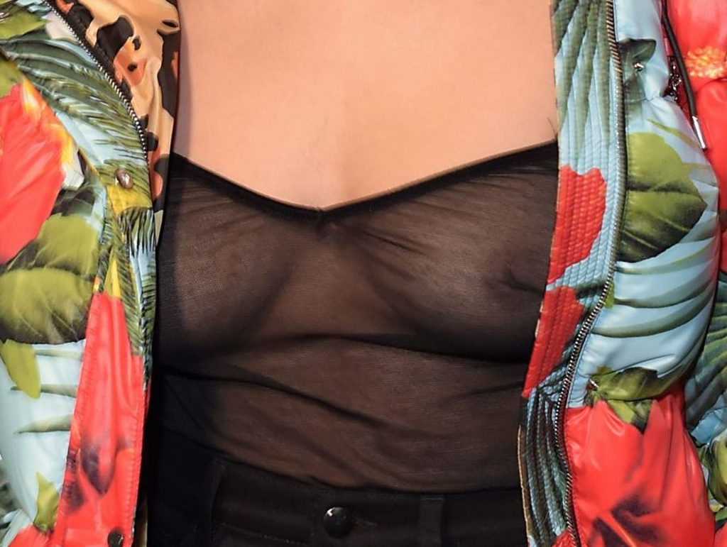 Connie Constance Displays Her Nude Tits at the M.A.C Studio 67 Party (3 Photos)