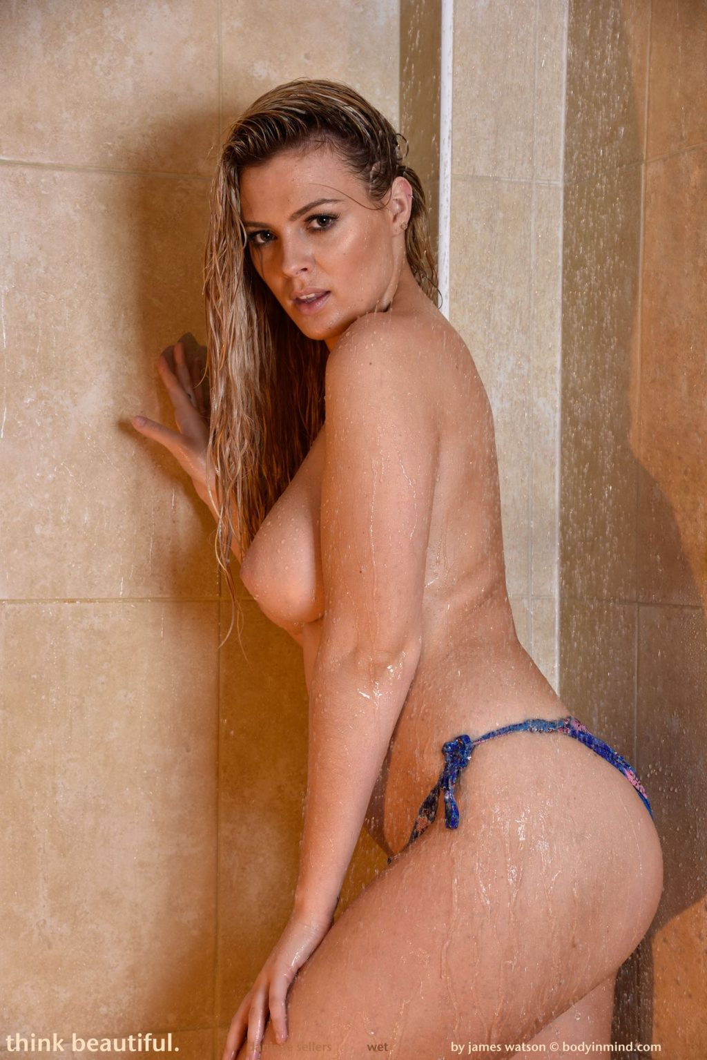 Danielle Sellers Shows Off Her Nude Wet Body (46 Photos)
