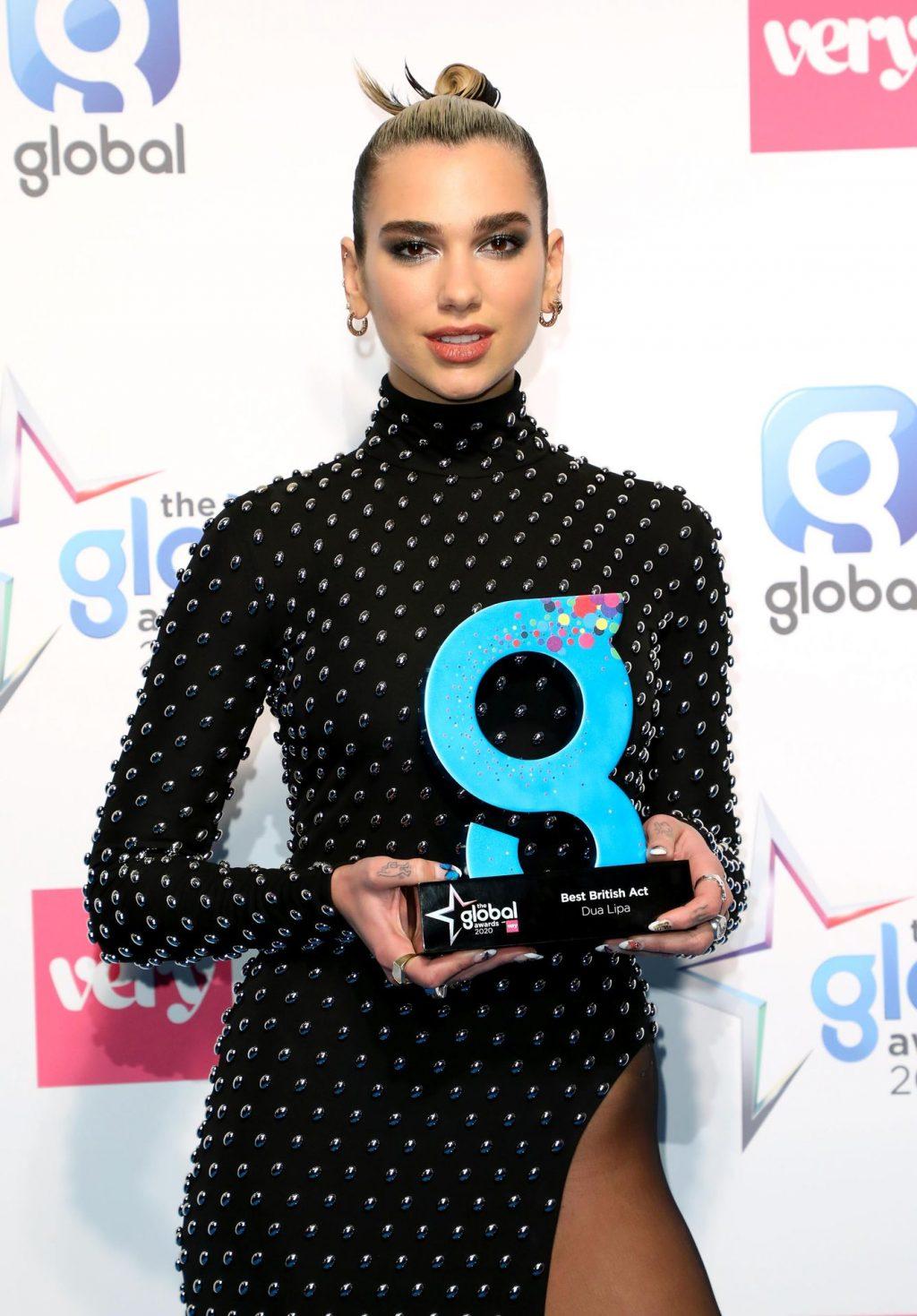 Dua Lipa Stuns at The Global Awards in London (70 Photos)