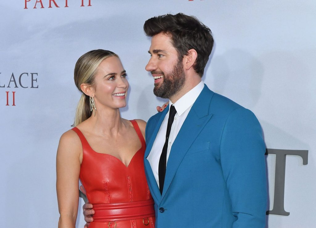 Emily Blunt Flaunts Her Cleavage in a Red Dress at the World Premiere of A Quite Place Part 2 (86 Photos)