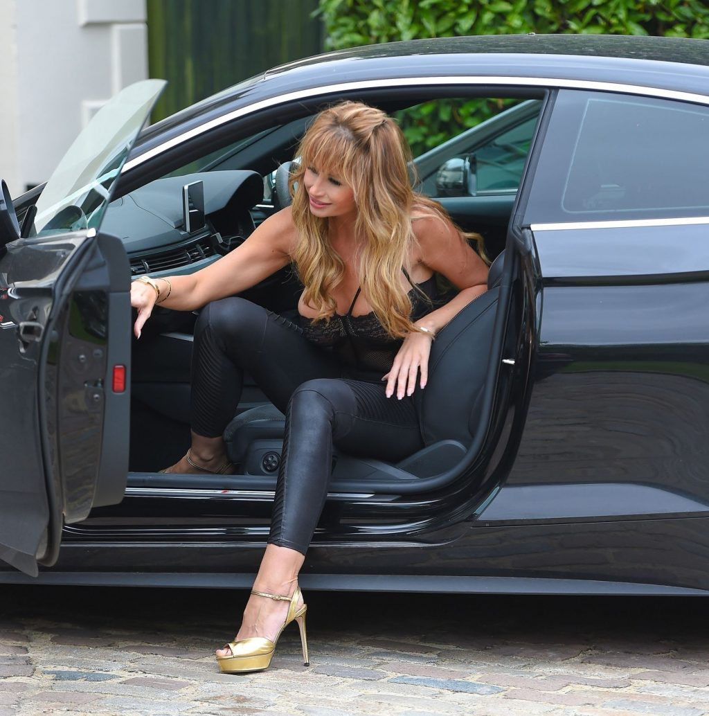 Ester Dee is Seen Filming for the New Series of The Real Housewives of Cheshire (30 Photos)