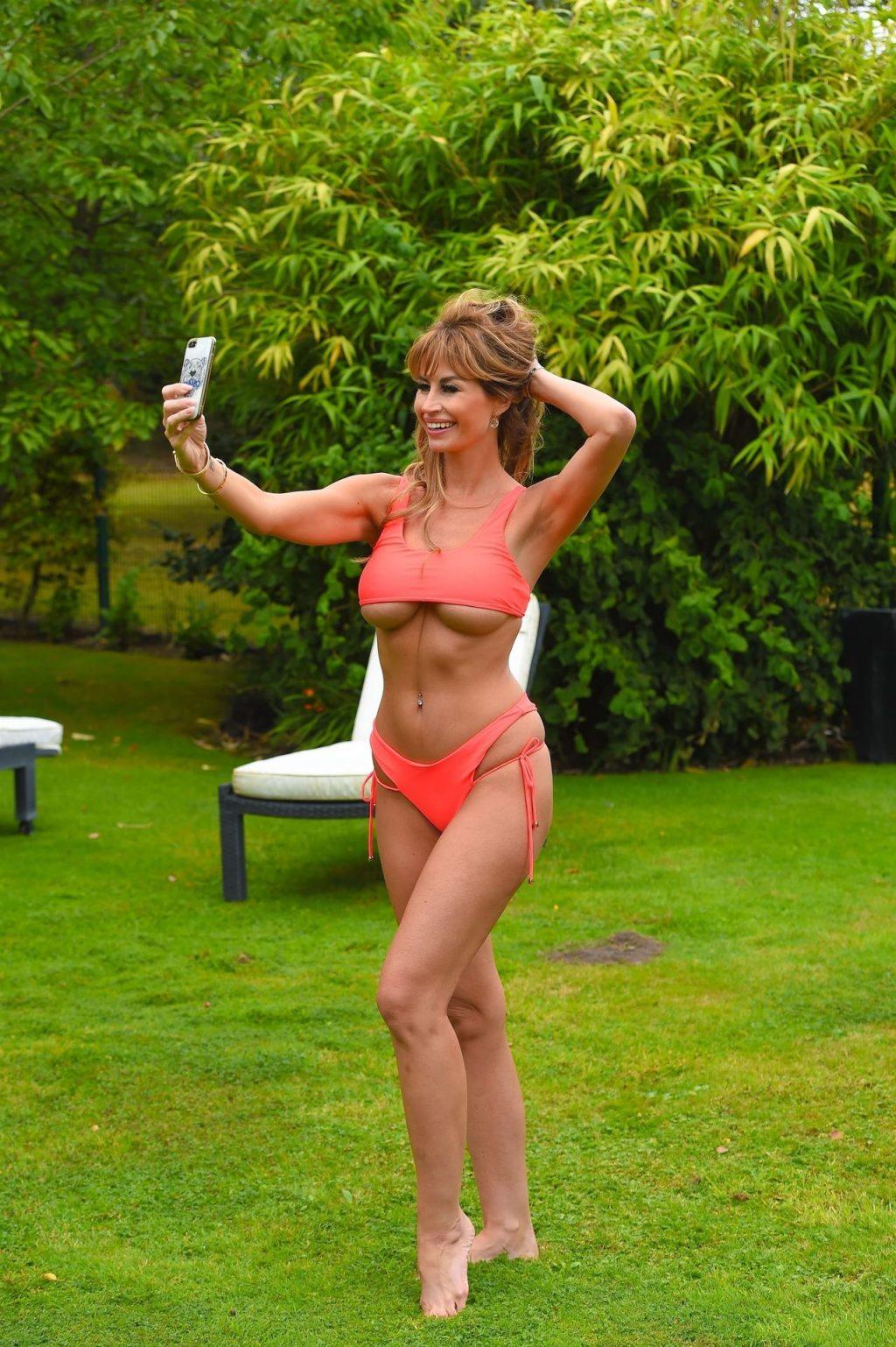 Ester Dee Shows Off Her Incredible Body in an Orange Bikini (10 Photos)