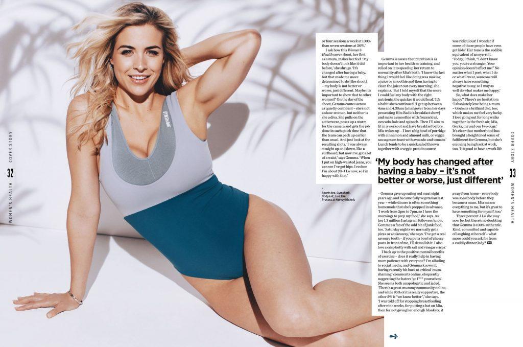 Gemma Atkinson Sexy – Women's Health (12 Photos)