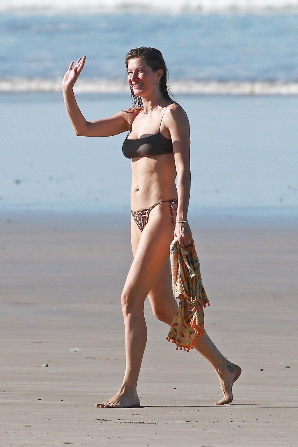 Gisele Bundchen Puts Her Incredible Bikini Body on Display During a Beach Photoshoot (35 Photos)