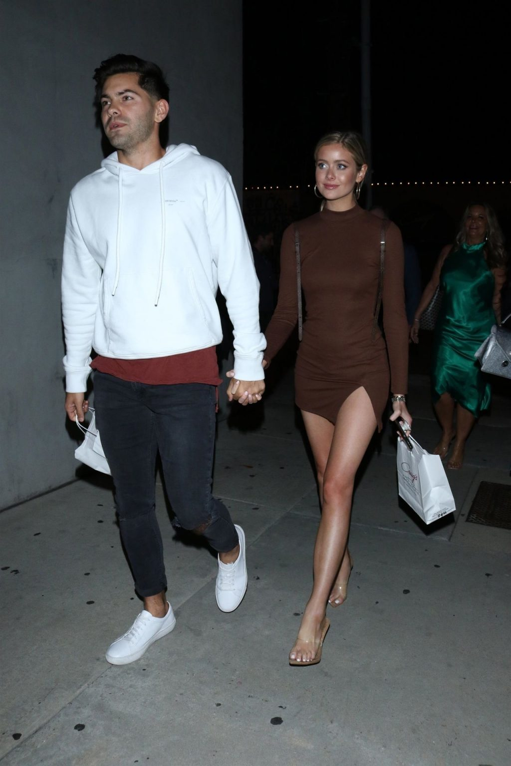 Hannah Godwin & Dylan Barbour Are Seen Outside Craig's Restaurant in West Hollywood (47 Photos)