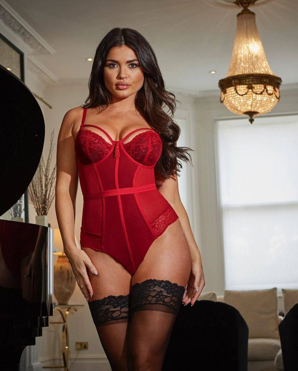 India Reynolds Presents Pour Moi Lingerie Collection (19 Photos)