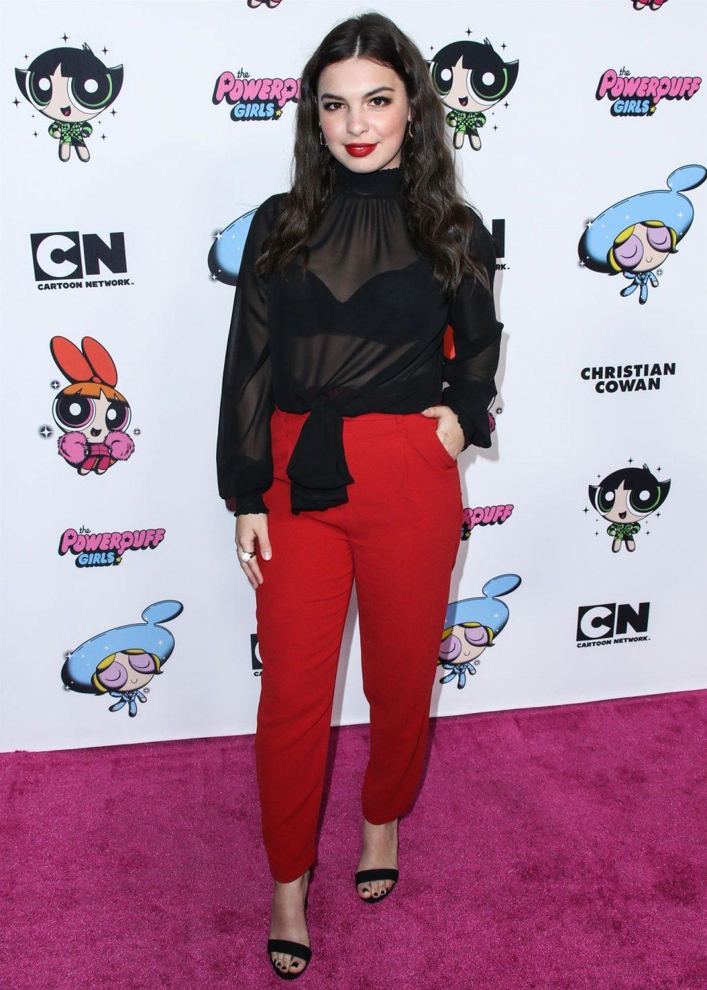 Isabella Gomez Looks Hot at the 2020 Christian Cowan x Powerpuff Girls Runway Show (19 Photos)