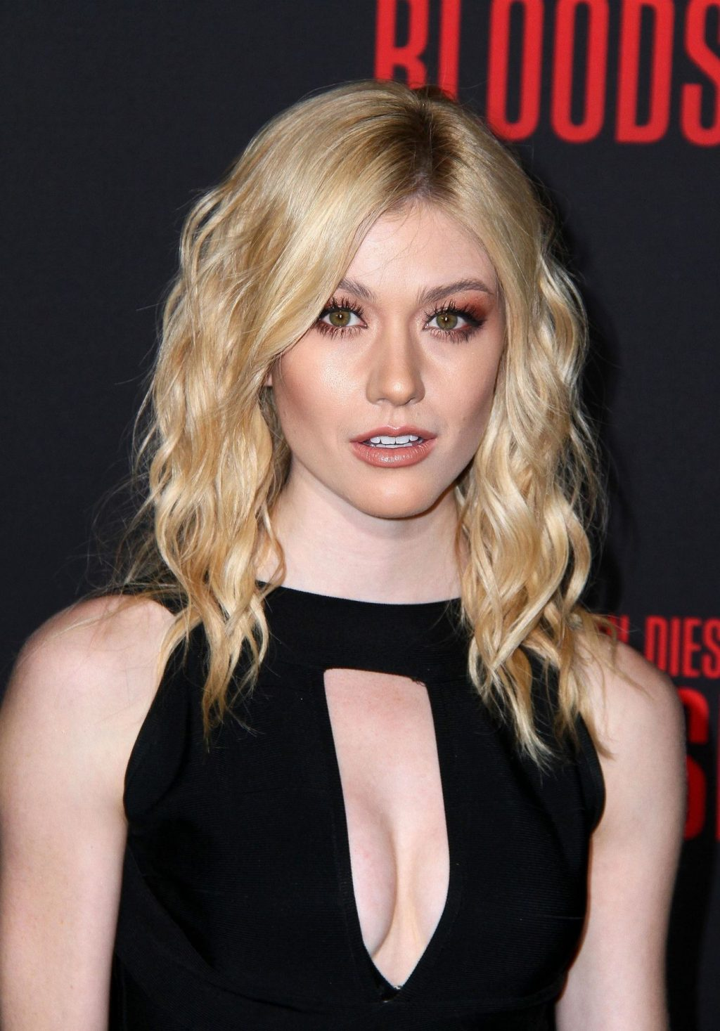 Katherine McNamara Shows Her Cleavage and Legs at the Bloodshot Premiere (13 Photos)