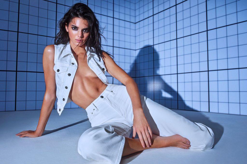 Kendall Jenner Presents Calvin Klein Collection (17 Photos + Video)