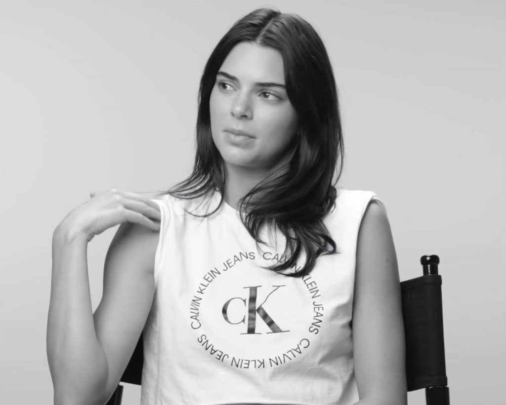 Kendall Jenner Shows Off Her Stunning Figure For Calvin Klein Spring 2020 Campaign (36 Pics + Video)