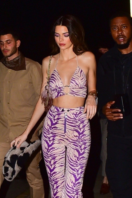 Kendall Jenner Gets Camera Shy While Leaving a Party at SHOREbar (65 Photos)