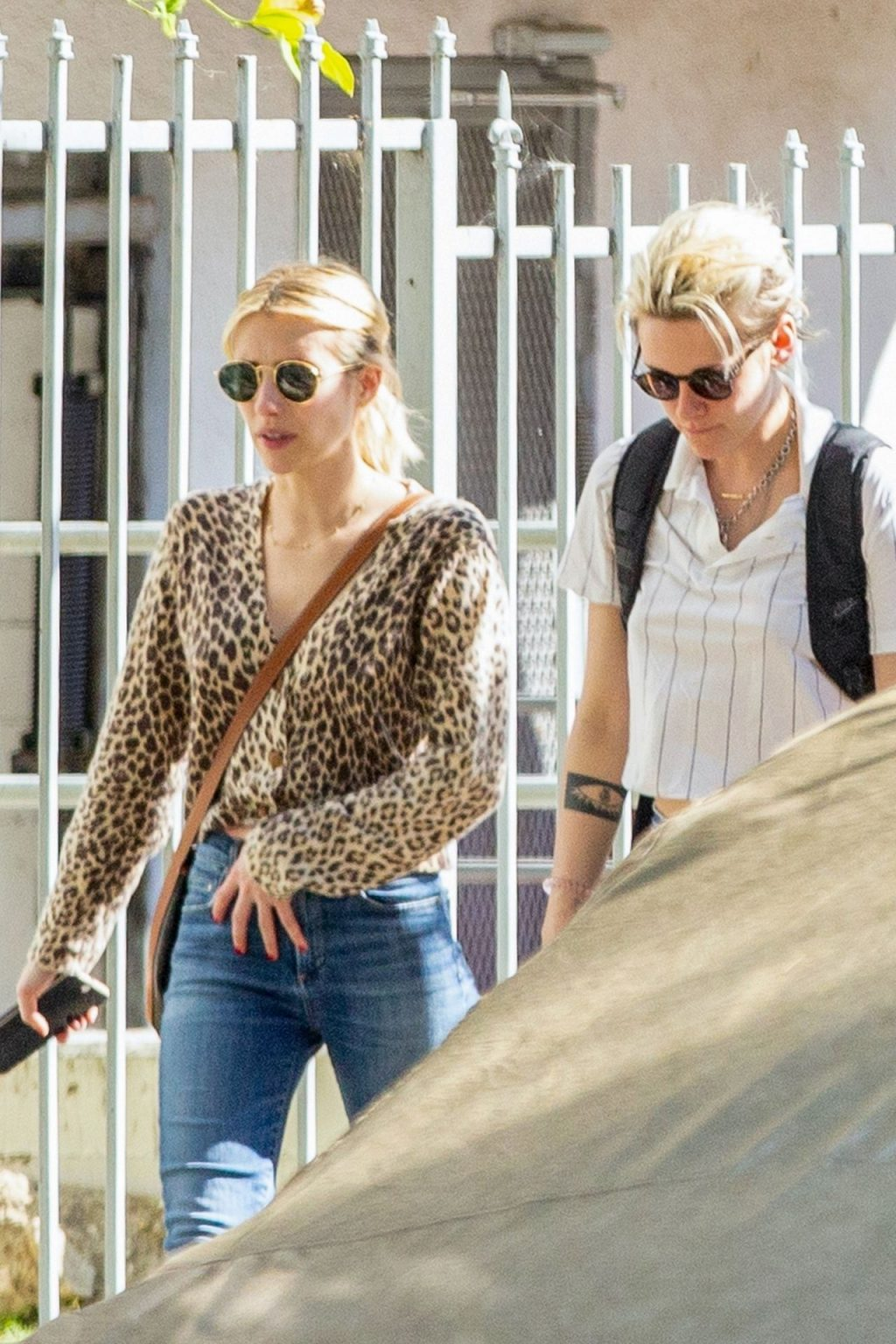 Kristen Stewart Brings Emma Roberts with Her to Check Out a New Apartment in Los Feliz (24 Photos)