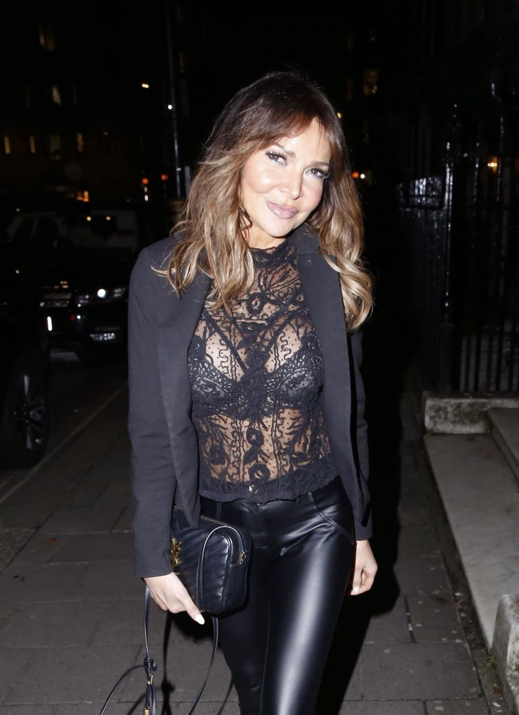 Lizzie Cundy Pictured Out on the Town with her Friends in London (36 Photos)