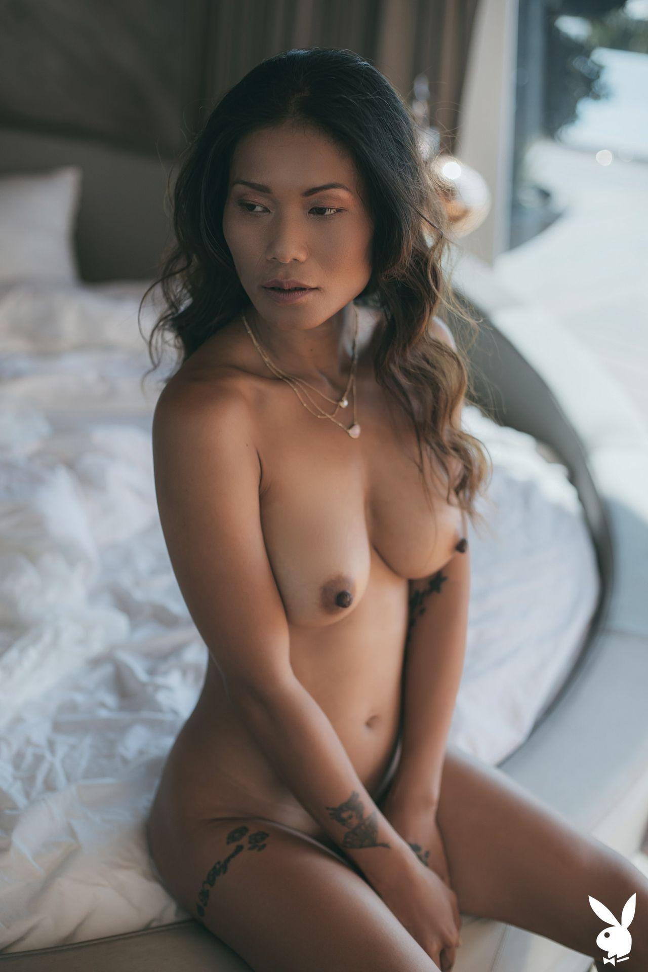 Topless Naked Woman Katana Png