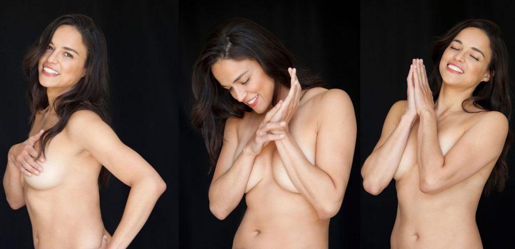Michelle Rodriguez Nude (1 Photo)