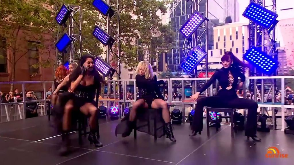 The Pussycat Dolls Took the Sunrise Stage in Sexy Outfits to Perform in Sydney (88 Photos)