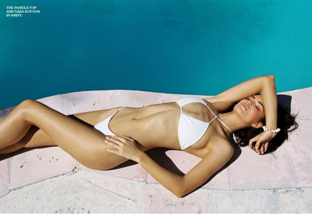 Robin Holzken Poses for the New Campaign of the Los Angeles Swimwear Brand Frankies Bikinis (15 Photos)